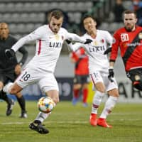 Antlers strike twice in stoppage time to beat Gyeongnam FC in Asian Champions League