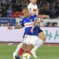Marinos, Grampus deliver entertaining duel from start to finish in 1-1 draw