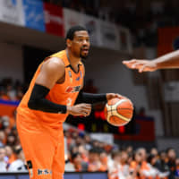 Niigata Albirex BB power forward Lamont Hamilton helped the Central Division champions win their final 10 games of the regular season. | B. LEAGUE