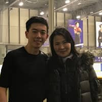Productive partnership: Hamada helps Zhou find success