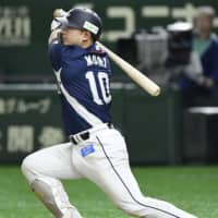 Tomoya Mori leads Lions' hit parade with 4-for-5 performance against Fighters