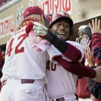 Zelous Wheeler lifts Eagles to win over Fighters with two-run homer in eighth