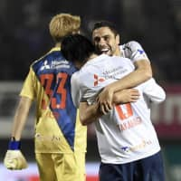 FC Tokyo's Diego Oliveira bags winning goal, extends scoring streak to four games