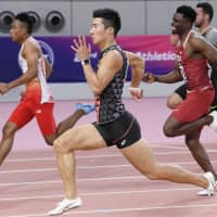 Sprinter Yoshihide Kiryu claims gold in 100 at Asian Athletics Championships