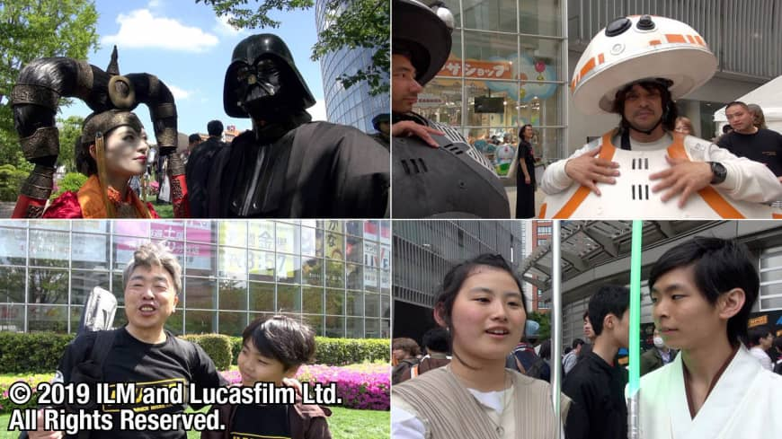 """[VIDEO] Voices from Star Wars fans at """"Star Wars Day"""" Tokyo 2019"""