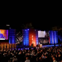 Israel marks Holocaust Remembrance Day with solemn ceremony as Netanyahu hit surge in anti-Semitism