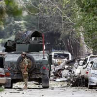 Taliban attack on aid group in Kabul ends with four killed, dozens wounded