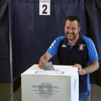Italy's ruling League tops EU vote as 5-Star loses ground, exit polls indicate