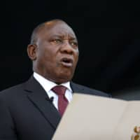 Promising jobs and to deal with corruption, Cyril Ramaphosa is sworn in as South Africa's new president