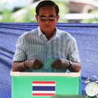 Thai election results show no clear winner but junta party favored