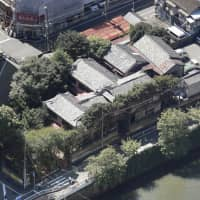 Sekisui House suffered a huge loss after paying for this plot of land near Gotanda Station in central Tokyo, in a deal that turned out to be a scam. | KYODO