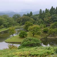 The grounds of Shugakuin Imperial Villa blend seamlessly with the surrounding landscape.   STEPHEN MANSFIELD