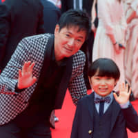 Red carpet: Director Jacky Woo and actor Kokoro Terada recently promoted 'Grandma is Okay' at the 11th Okinawa International Movie Festival. | DIN EUGENIO