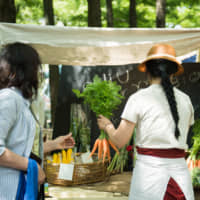 A growing community: Around 200 vendors participate in Eat Local Kobe throughout the year, 70 to 80 of which are local farmers. | COURTESY OF EAT LOCAL KOBE