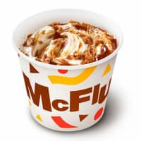 The new McDonald's McFlurry tastes like caramel, caramel and, well, caramel