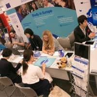 The European Higher Education Fair held in Tokyo last May. | EUROPEAN UNION