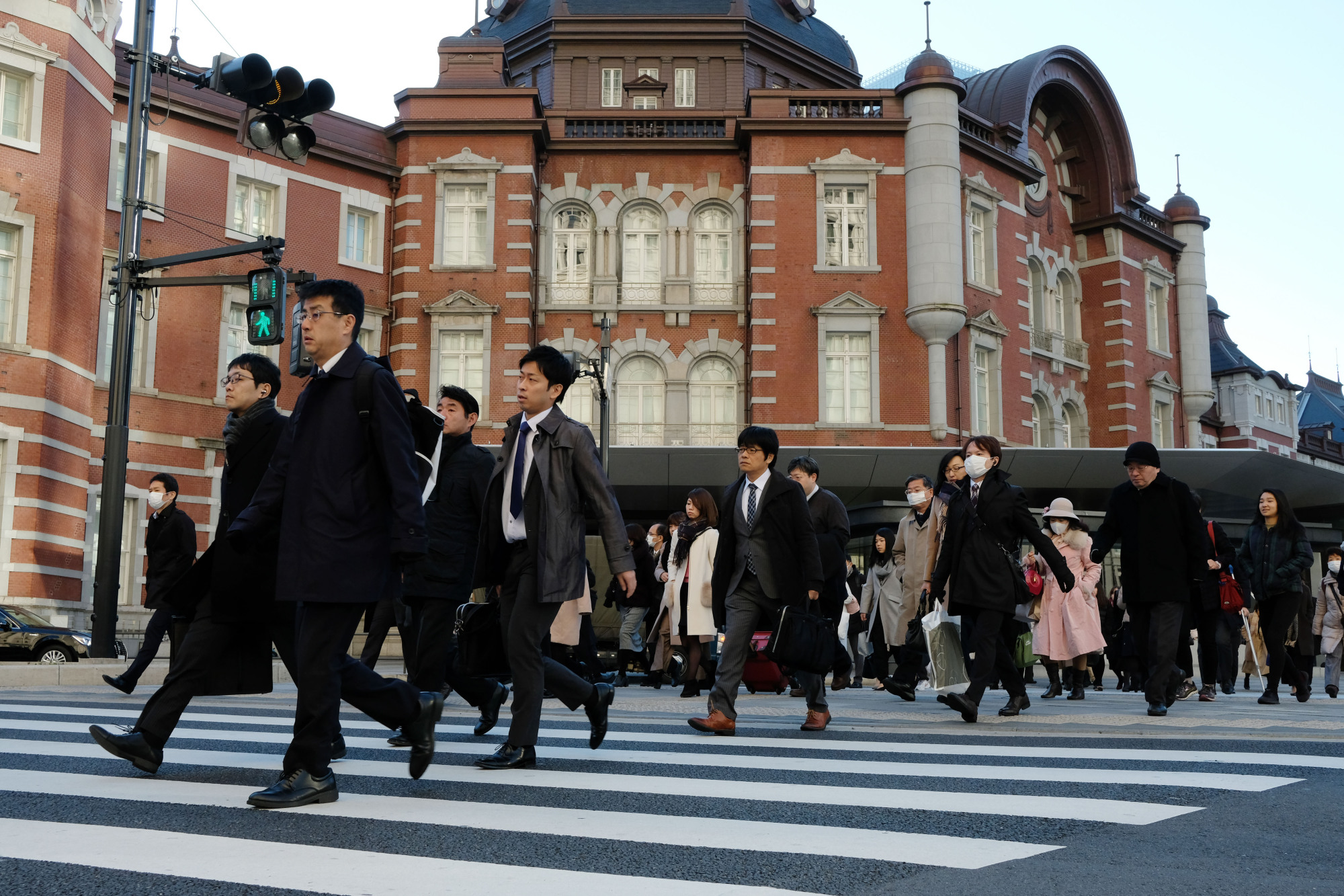 Times are changing for Japanese white-collar workers as firms begin to shift away from lifetime employment. | BLOOMBERG