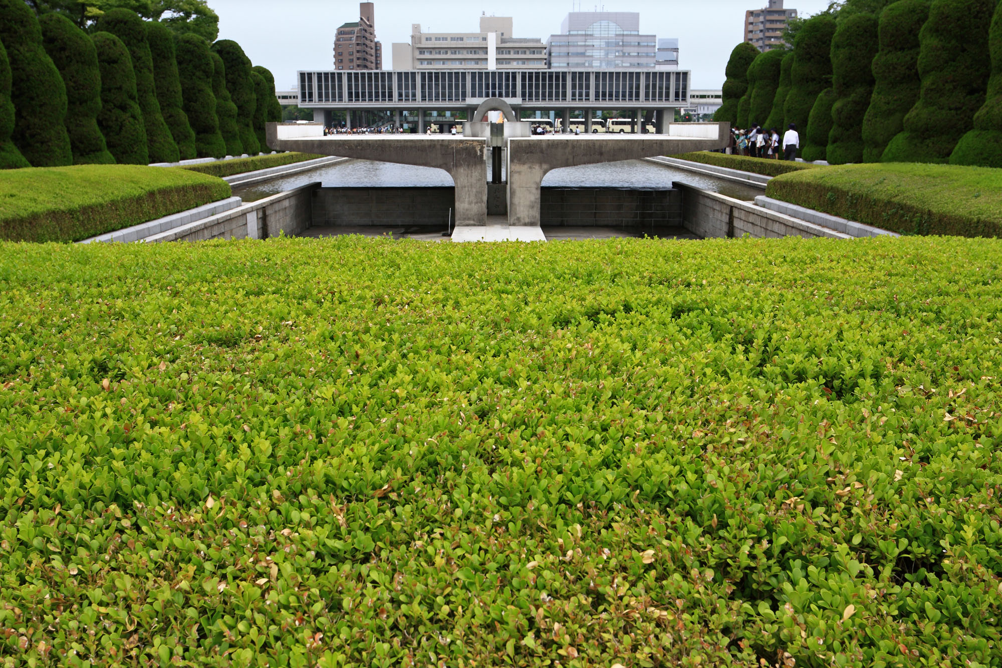 Touch up: The Hiroshima Peace Memorial Museum recently underwent renovations to improve the way its main exhibition is presented. | GETTY IMAGES