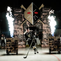 Right wing Yushiro Hirano was second on the Wheeling Nailers in points (57) during the 2018-19 season. | COURTESY OF WHEELING NAILERS