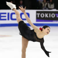 Four-time national champion and two-time world medalist Satoko Miyahara joins a list of Japanese skaters to have programs choreographed by Benoit Richaud. | KYODO