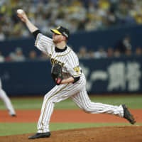 Tigers' Pierce Johnson striving to improve his Japanese