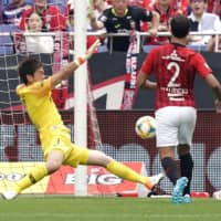 Sanfrecce find scoring touch against Reds