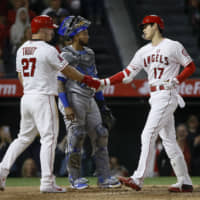 Shohei Ohtani helps ice Angels win with two-run homer