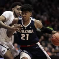 Gonzaga star Rui Hachimura, the West Coast Conference Player of the Year, averaged 20.6 points and 6.7 rebounds per game this season. | AP