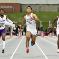 Abdul Hakim Sani Brown runs 100 in 9.99 seconds to claim title at SEC championships