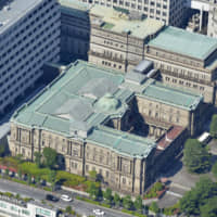The Bank of Japan's head office in Tokyo | KYODO