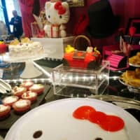 Special Hello Kitty dessert buffet available at Hilton Osaka