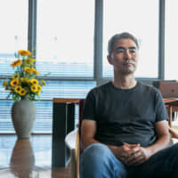 Henry Chang, chief executive officer of Wemade Co., sits in the company's headquarters in Seongnam, South Korea. Over the last three years, Chang has filed about 65 lawsuits in China, Singapore and South Korea against Chinese gaming studios, attempting to block what he alleges are unlicensed versions of his two-decade-old title The Legend of Mir. | BLOOMBERG