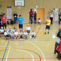 Basketball robot Cue3 and B. League's Alvark Tokyo join Olympic effort to teach students math