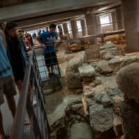Acropolis Museum opens ancient Athens neighborhood site below its base