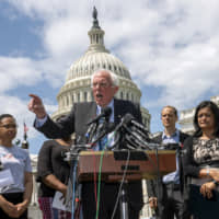 Candidate Bernie Sanders calls for canceling $1.6 trillion in student loan debt