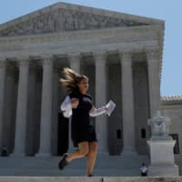 News breaks on Thursday of the U.S. Supreme Court's ruling that U.S. President Donald Trump's administration did not give an adequate explanation for its plan to add a citizenship question to the 2020 census. | REUTERS