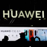 Huawei contends that equipment seized by the U.S. government did not need a license because it was only for testing and would be returned to China. | REUTERS