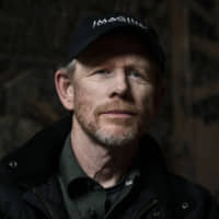Filmmaker Ron Howard poses for a portrait in New York to promote his documentary 'Pavarotti' April 30. Howard says he hopes his new documentary about opera icon Luciano Pavarotti will introduce the singer to a young generation that never got to hear him before his death in 2007. | CHRISTOPHER SMITH / INVISION / VIA AP