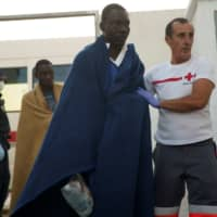 20 missing from migrant boat after ferry rescues 27 off Spanish coast