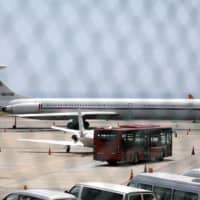 Russian air force plane lands in Venezuela, say witness and website