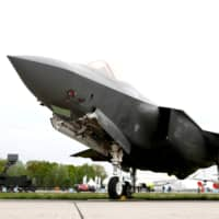 A Lockheed Martin F-35 aircraft at the ILA Air Show in Berlin on April 25   REUTERS