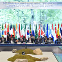 G20 energy ministers agree at meeting in Japan to outlines of framework to tackle marine plastic waste
