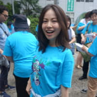 Sayaka Hashiba's sister, who suffered from OCD, passed away last year. Hashiba, 34, now volunteers for OCD Japan to raise awareness of the anxiety disorder. | ALEX MARTIN