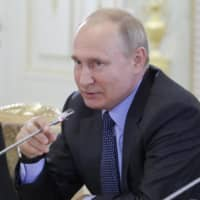 Putin says Japan's military cooperation with U.S. is getting in the way of peace talks with Russia