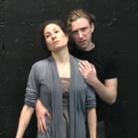 Finding a voice: Tania Coke (front) and Evan Spreen star in 'Disturbance,' a play that tackles the topic of domestic violence. | KELLY HAAVALDSRUD