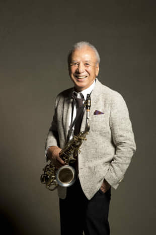 Horn of plenty: Sadao Watanabe is known for his work in jazz, but also plays Brazilian bossa nova.