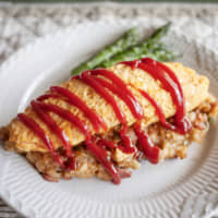 Soft-set <I>omurice</I>: From the big screen to the kitchen table