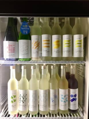 Yura-yura or toro-toro: Yummy Sake's private label has 12 brews, each of which is given an onomatopoeic name. | MELINDA JOE