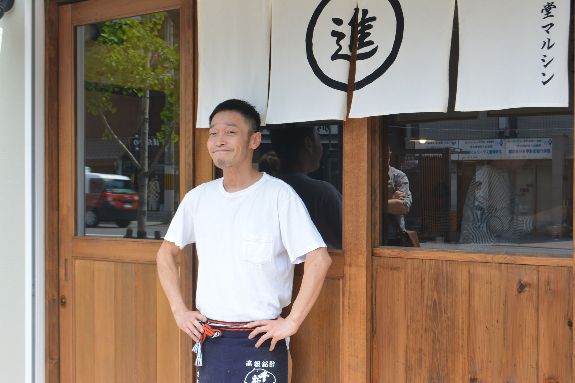 Punk and proud: Before opening Shokudo Marushin, Shintaro Nakamura was a founding member and vocalist for punk band First Alert. | J.J. O'DONOGHUE