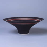 'Bowl' (1980s) by Lucie Rie | THE MUSEUM OF CERAMIC ART, HYOGO